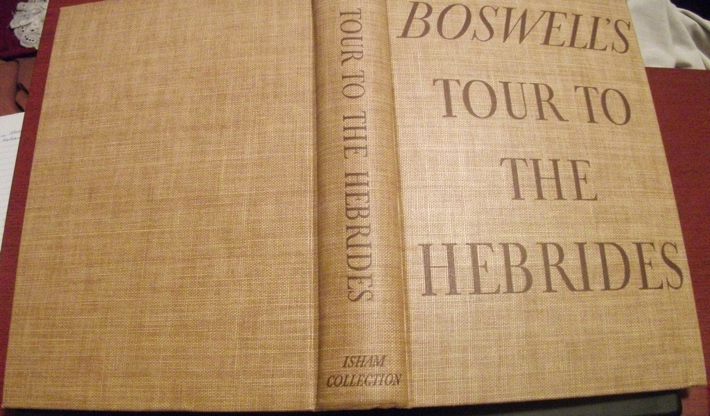 https://www.shantonbooks.comhistorical,book,Boswells,journal,tour,to the,hebrides,Samuel,Johnson,1936,first,published,hardcover